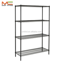Power coated Wire Shelving, Square Wire Storage Shelf