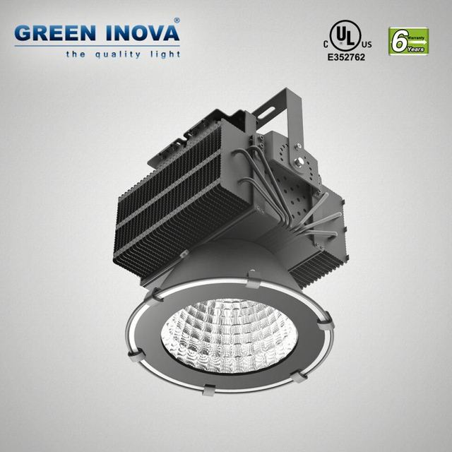 6 years warranty UL cULs LED high bay lamp with cooling fan