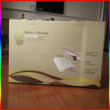 high quality large pillow corrugated paper packing box