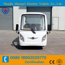 14 seater Electric Sightseeing Tourist Car for wholesales