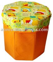durable firm sit box multiple Foldable storage stool