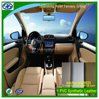 Car/coach/truck/boat interior upholstery artificial leather customized pattern ggod price