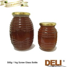 Honey in Screw Glass Bottle for Poland