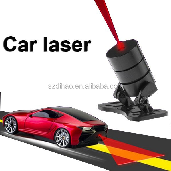 DIHAO New Arrival!! CST Laser Warning Fog Lamp car laser lamp used on rainy/snowy day