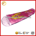 Comfortable soft nylon kids sleeping bag