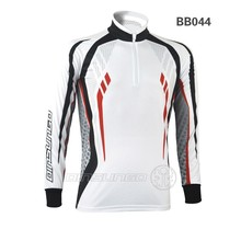 2017 UV protection fishing clothing sublimation printing fishing clothing BB044