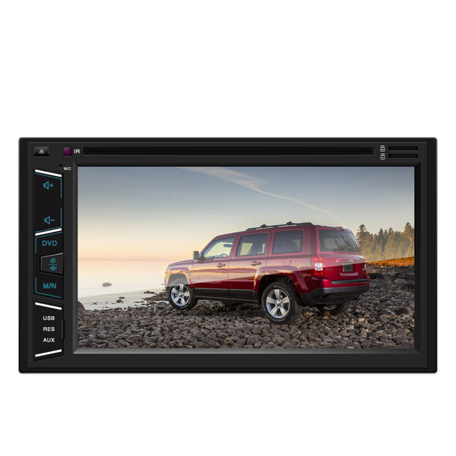 "Dual din car dvd player brand new universal 6.2"" car stereo WinCE Android dvd player"