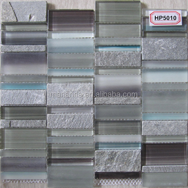 glass mosaic tile shower floor 300x300 craft glass tiles
