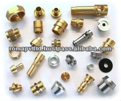 High Quality Brass turned Machine Parts