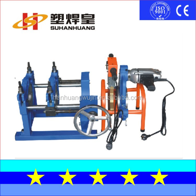 SH63-200-2HY Manual Polyethylene Manual Polyethylene hdpe pipe fitting Butt Welding Machine
