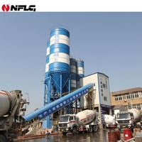 Leading technology widely used 120m3/h ready mix concrete mixing plant with CE ISO certification