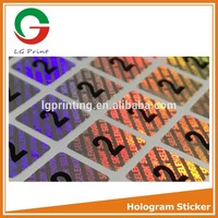 Professional make custom hologram sticker with great price