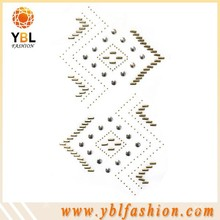 Iron-on Studs Rhinestone Appliques for Jeans Poackets