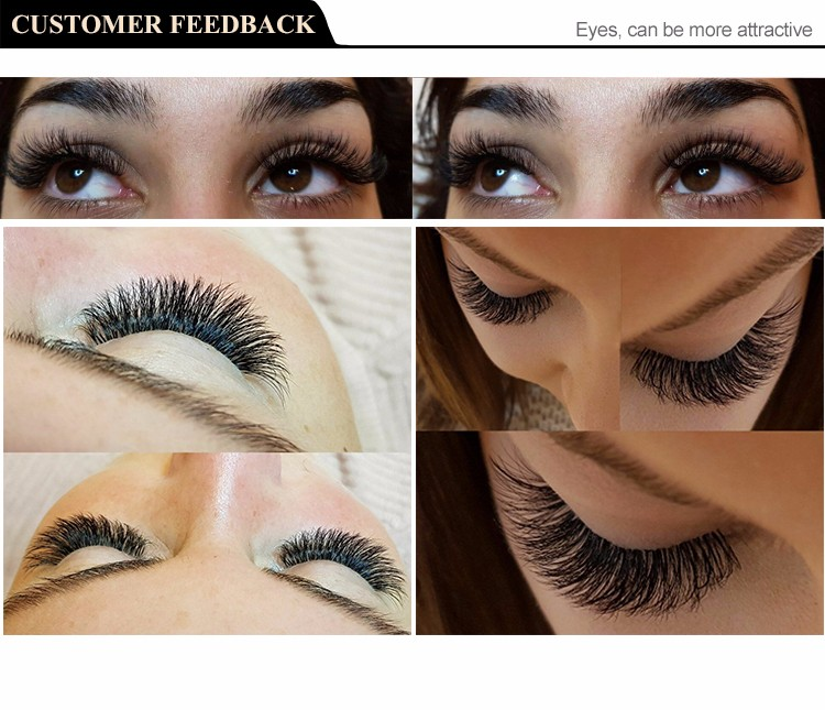 Private Label Prime Korean Silk /Mink/Flat 0.03 0.05 C/CC/D/D Eyelash Extensions