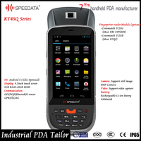 Programmable Java C# Handheld Computer Fingerprint Android Phone with Wifi 4G Gps From Speedata Manufacturer