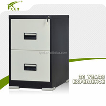 large a4 white and black luxury metal classical filing cabinet with lock