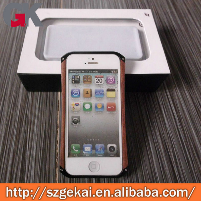 metal aluminum bumper case cover for iphone 4/4s