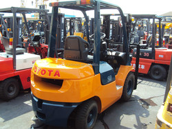 used toyato forklift2.5 ton,original japan forklift,cheap for sale