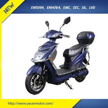 EEC Approval 60V 20Ah Cheap Electric Moped Scooter For Adults With 500W Motor