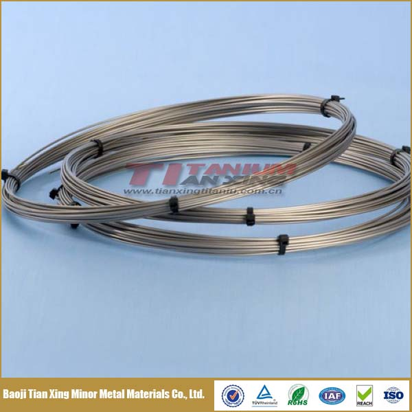 Industrial Alloy and Unalloy Titanium Wire for Sale