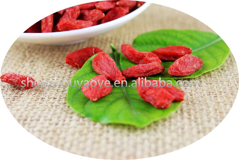 High Quality Dried goji berries prices