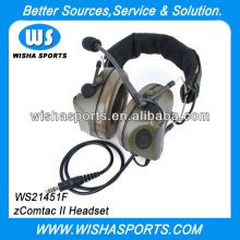 2013 Best ZCOMTAC II Noise Reduction Wired Army Headset