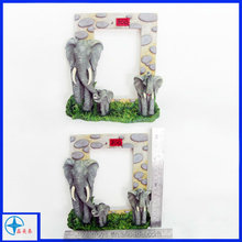 custom resin elephants family photo frame picture frame
