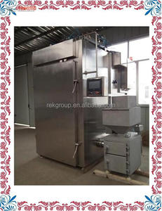 Superior beef meat smoked machine/fish smoking oven/chicken smoke house for sale for sale with CE approved
