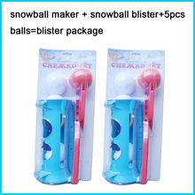 ARCTIC FORCE SNOWBALL BLASTER SOLO SNOW BALL LAUNCHER THROWER MAKER GUN/Solo SnowBall Blaster