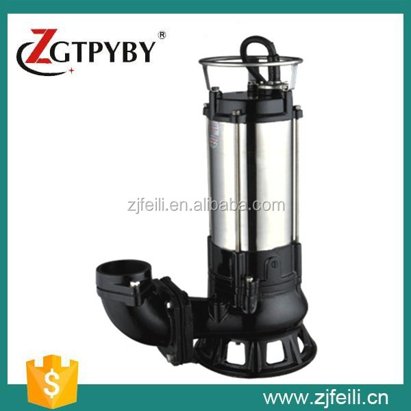 single stage pump EP sewage pump single phase submersible motor