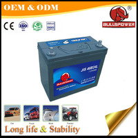 Japan club cars 12V 45ah ns60l automotive battery for automotive alternator