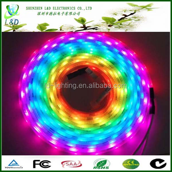 Waterproof 12V LED Strip Light , 5050 2835 Flexible RGB LED Strip