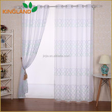 New popular manufactory sable embroidery Nice quality china supplier curtain 2015