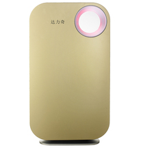 Bacteria detection air purifier with LCD touch screen