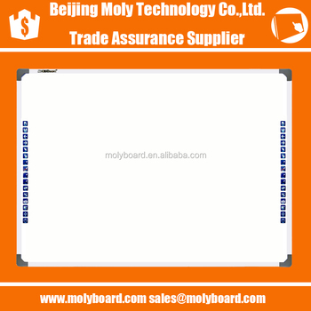 MOLYBoard 4 CCD cameras Optical Interactive smart whiteboard with 10 points touch