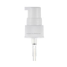 20/410 white cosmetic plastic cream pump for skin care cosmetic packaging
