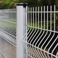 galvanized welded wire fence panels folding metal fencing