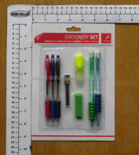 Top Write/Stationery set 8pcs