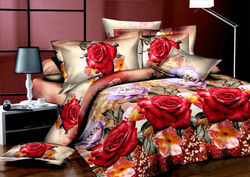 wholesale cheap fancy 3d polyester bedsheet /bedding set/duvet cover set