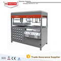 Double furnaces blister vacuum forming machine