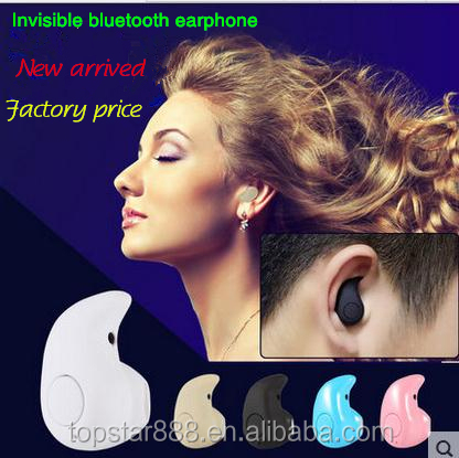 2016 hot sell earphone <strong>bluetooth</strong> , light in ear earphone ,fasion invisible <strong>bluetooth</strong> earphone .
