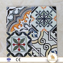 150x150 impression flower style arabesque patchwork floor tile