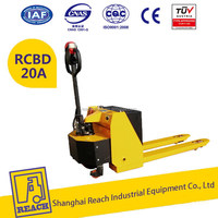 Top level low cost semi-electric lift pallet jack