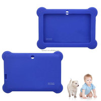 Quality silicone buffer customized phablets phone call 3G Wifi 7 inch Q88 Android A23 kids tablet case
