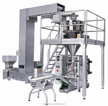 Automatic weighing packaging machine/VFFS/chips,nuts, snacks, biscuit, candies, ect
