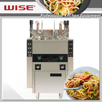 Hot Sale Digital Auto Lift Up Commercial Noodles Cooker with 6 Baskets For Commerical Restaurant Use