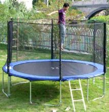 13ft big cheap outdoor trampoline for adults