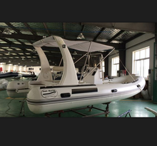 middle semi-rigid inflatable rib boat for sale