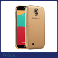 Hot selling for samsung galaxy S4 aluminum metal bumper back cover case