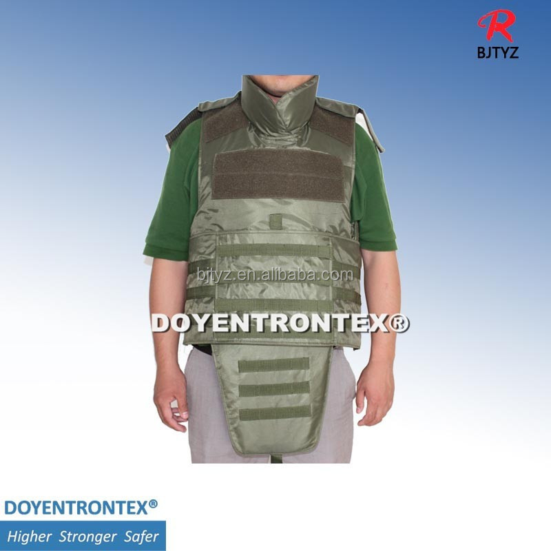 NIJ level IV full body protection armor
